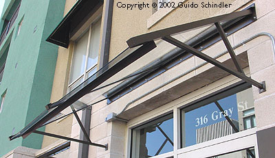 hand metal custom steel small railings awnings general caged awning